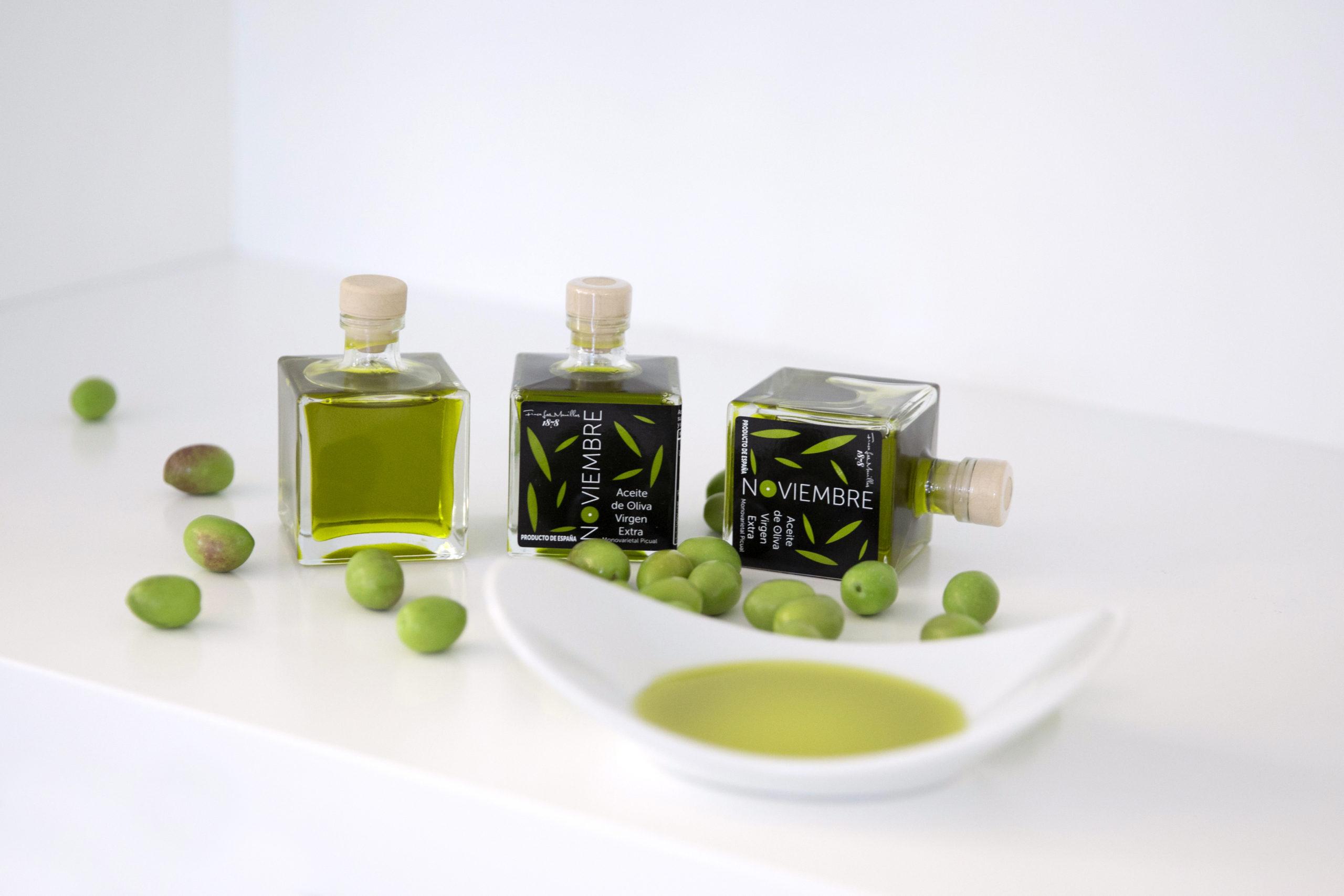 La acidez del aceite de oliva y su sabor - Finca Las Manillas